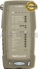 Agilent Dualremote 350 Cable Tester 4 Wirescope 350 Cat5e Cat6 Cable Certifier
