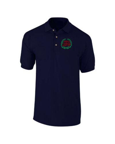 Mini Cooper Laurel Embroidered Polo Shirt Personalised Classic Car Free P/&P