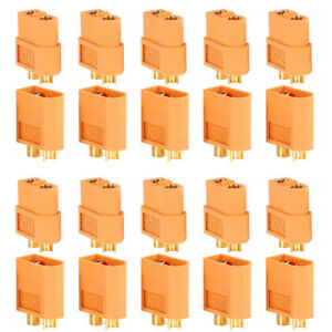 20pcs-10-pares-XT60-macho-hembra-conectores-bala-plugs-para-RC-Lipo-bateriaEE