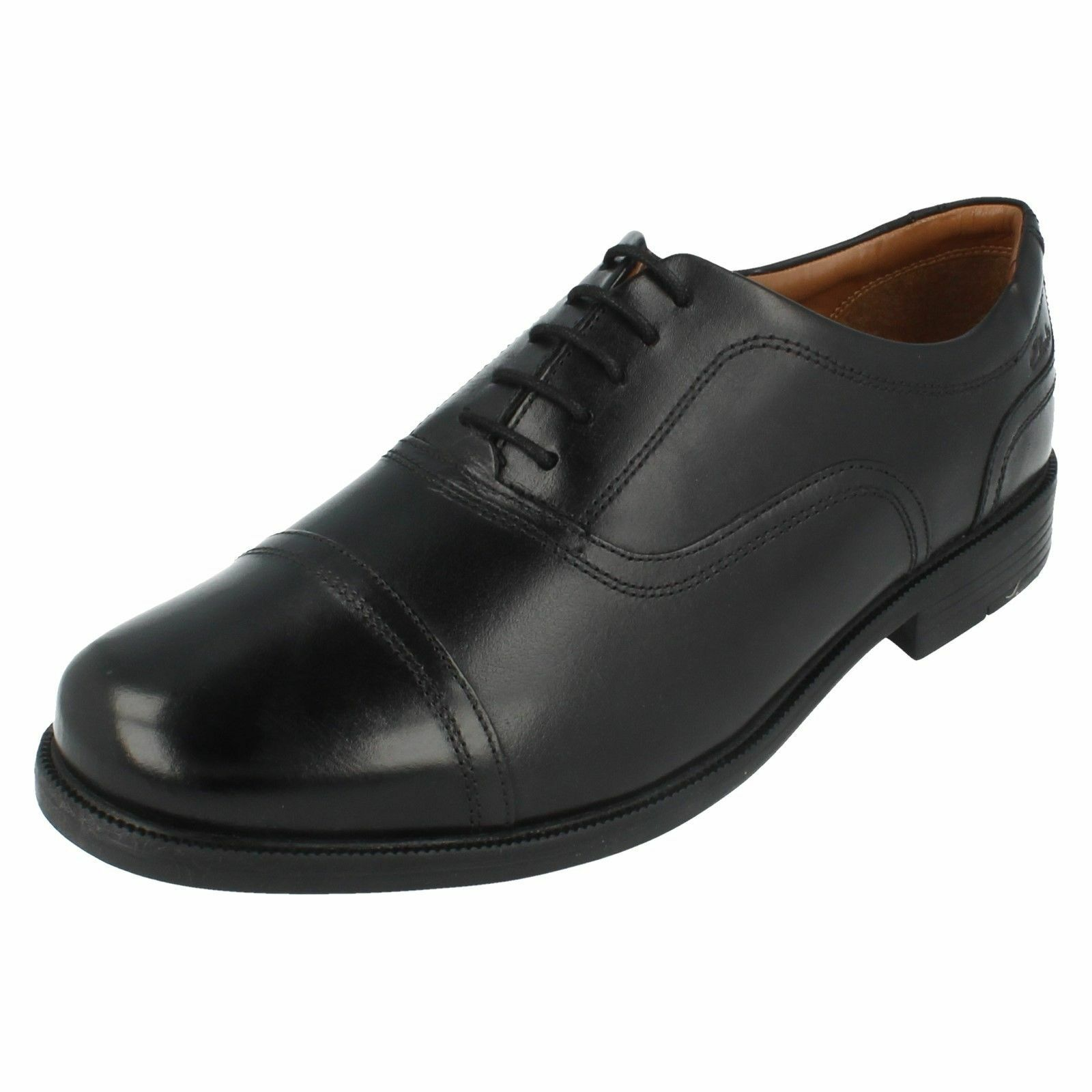 Uomo Up Beeston Cap4 Toe Cap Lace Up Uomo Schuhes By Clarks e12e97