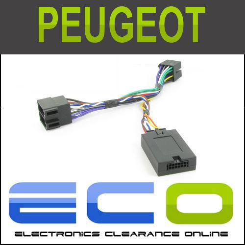 Ctspg006-pioneer Peugeot 206 307 406 607 80 socio Volante tallo Adaptador
