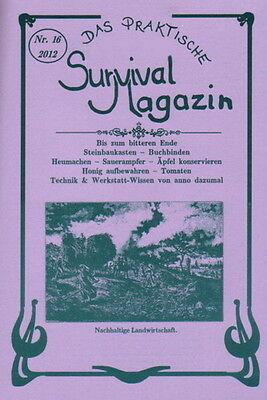 Survival Magazin, Nr.16 - Eingesäuerte Äpfel,Sauerampfer konservieren,Obsthorden