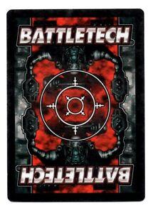 LE Battletech ccg Limited Uncommon cards 3//4