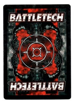 Battletech ccg Unlimited Rare cards 3//3 UE