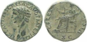 Dupondius 41-54 N. Chr. Antiguo/Romanos Época Imperial / Claudius (49589)