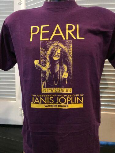 Janis Joplin Biography Promo Shirt Size Medium Hip