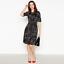 Womens-Principles-Debenhams-Black-Ivory-Petite-Floral-Skater-Fit-amp-Flare-Dress thumbnail 1