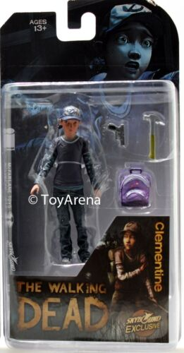 Skybound Exclusive The Walking Dead CLEMENTINE Color Ver Propre Action Figure