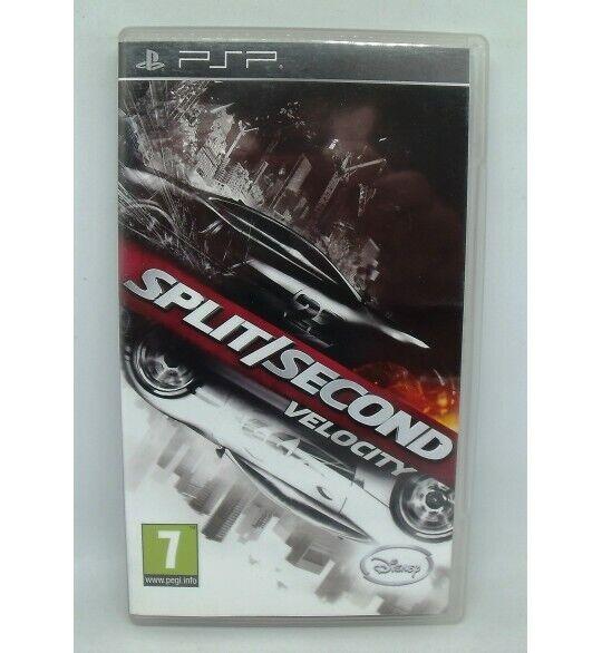 Split/Second : velocity sur Playstation Portable PSP avec Notice