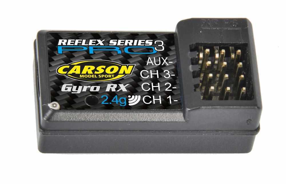 Carson Empfänger REFLEX Wheel Pro 3 Gyro 2,4Ghz - 500501539