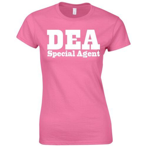 DEA Special Ladies Agent Fancy Costume Present Top Inspired Women GIft TShirt
