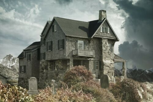 Cabin Horror House Cemetery HD POSTER