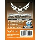 Mayday Card Game Sleeves Orange Backed 66x91mm BRAND