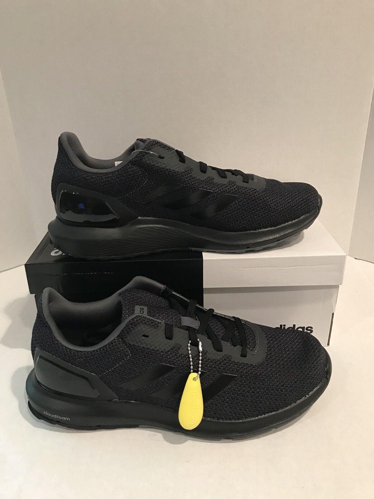 Pennino uomini  adidas cq1711 cosmico 2 nere cloudfoam correndo le scarpe nere 2 seleziona la dimensione 80 dollari e0669a