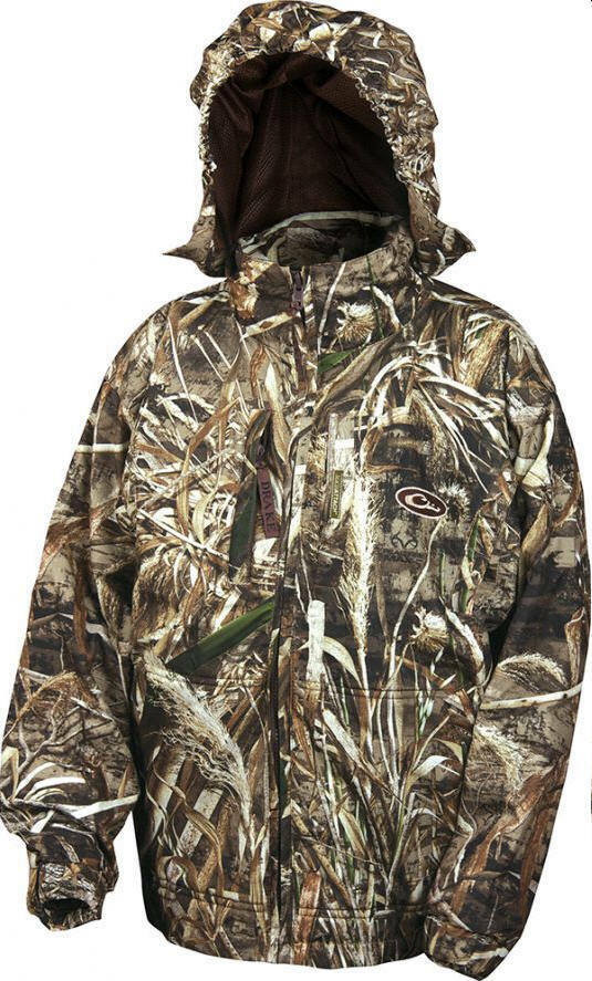 Drake Waterfowl 259015-08 Youth EST Rain Coat Max 5 Camo Size 8 20793