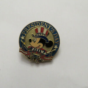 Disney-12-Months-of-Magic-President-039-s-Day-2002-Mickey-Pin
