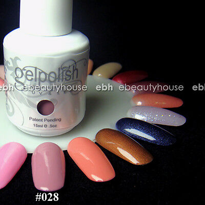 15 ml Nail Art Soak Off Color UV Gel Polish UV Lamp #028