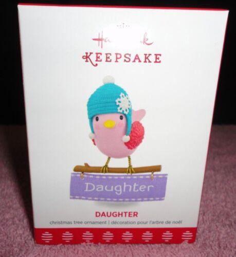 2017 HALLMARK KEEPSAKE  FAMILY MULTIPLE  CHOICES BIRD ORNAMENTS NEW IN BOX