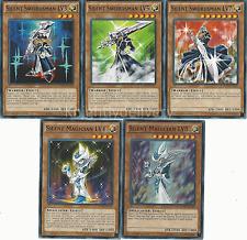 Silent Set - Magician LV4 + LV8 + Silent Swordsman LV3 + LV5 + LV7 - NM