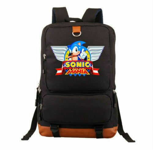 Sonic The Hedgehog anniversary School Bag Backpack 6 Styles!free shipping