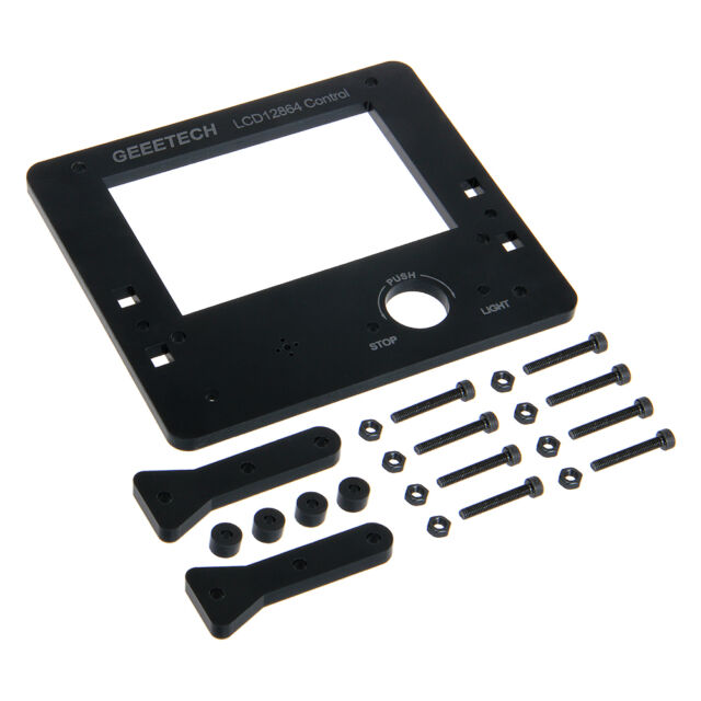 Two color  Acrylic frame kit for LCD12864 display controller Acrylic Prusa I3
