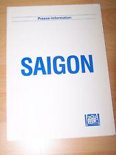 SAIGON - Presseheft ´87 - Willem Dafoe GREGORY HINES Fred Ward SCOTT GLENN