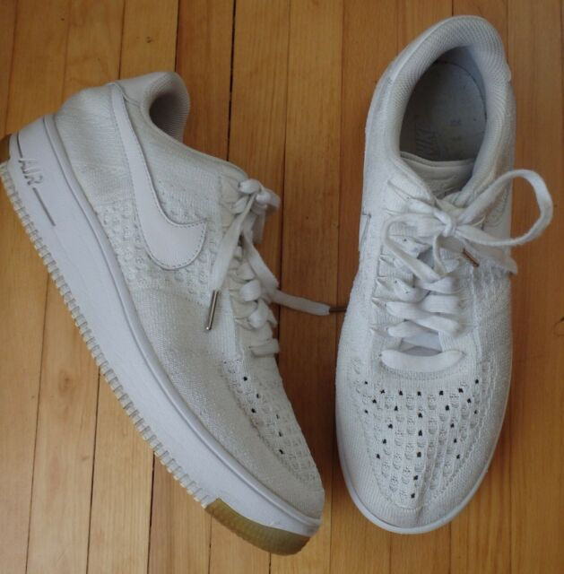 fashion new arrivals first look Nike Air Force 1 Ultra Flyknit White Ice AF1 Mens 10.5 Athletic Shoes  817419-100