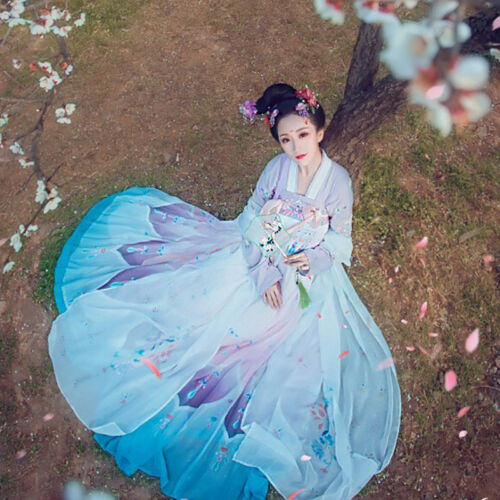 Hanfu Clothes Costume Fairy Skirt Dress Tradition Tang Outfit Cosplay Dress New