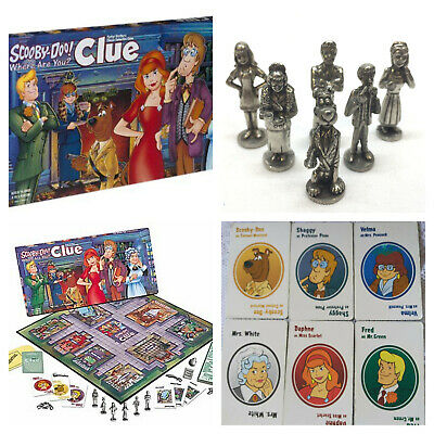 Scooby Doo Cluedo Mystery Board Game