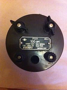 100-Ohm-Resistance-Standard-Resistor-Accuracy-0-01-CALIBRATOR-Coil