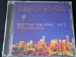 Various-Soul-From-The-Cities-Vol-1-Philadelphia-NEW-CD-1999-JERRY-BUTLER-O-039-JAY