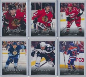 2011-12-Upper-Deck-Series-1-Series-2-CANVAS-Young-Guns-Rookies-YOU-CHOOSE