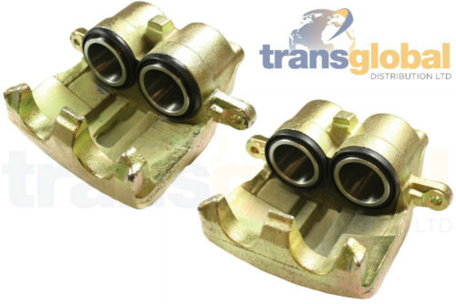 Pair Front Brake Calipers Left /& Right for Land Rover Discovery 2 98-04