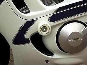 R-amp-G-White-Classic-Style-Crash-Protectors-for-Honda-CBR600-1998