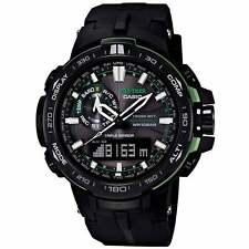 Casio PRW6000Y-1A Gents Ana-Digi Black Dial Black Band Alarm Watch