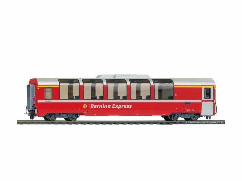 Bemo 3694143 coches panorámicas bp 2503 Bernina Express 2. clase, RHB, DC, h0