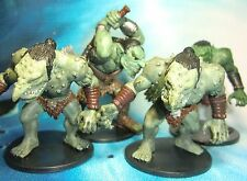 Dungeons & Dragons Miniatures Lot  Feral Troll Swamp Encounter !!  s112