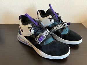 c00b8bb7e0787 Nike Air Force 270 Carnivore Black Court Purple Atomic Teal AH6772 ...