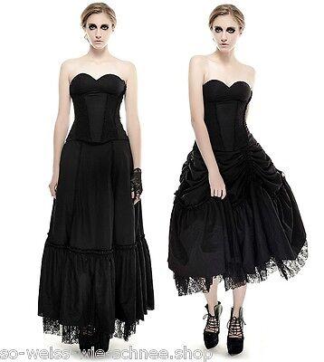 Punk Rave Gothic Lolita Kleid Raffbar Ballkleid Victorian Dress Nugoth Mera Q292