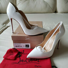 e51c7afd6d7b item 1 NIB Christian Louboutin Hot Chick 100 White Patent Pumps 40 So Kate  Pigalle NEW -NIB Christian Louboutin Hot Chick 100 White Patent Pumps 40 So  Kate ...