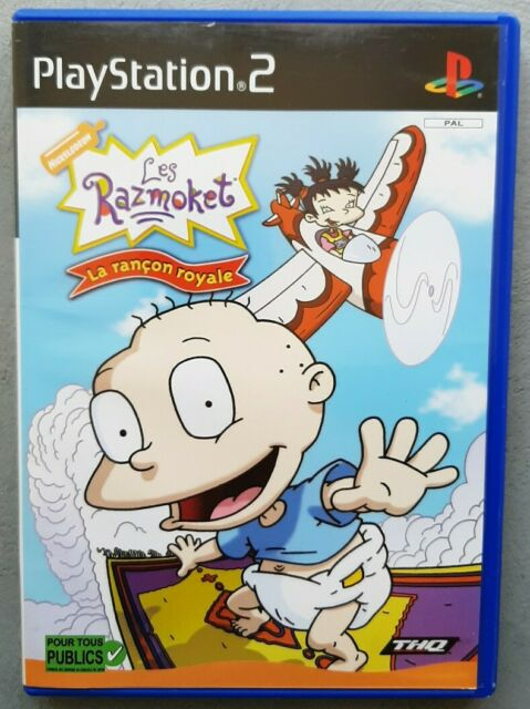 Jeu LES RAZMOKET LA RANCON ROYALE - Playstation 2 (PS2) - FR (PAL) - Complet