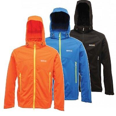 Regatta Static Mens Lightweight Water Repellent Wind Resistant Softshell