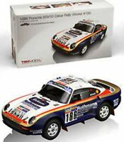 True Scale Miniatures 121807r Porsche 959 Resin Rally Car Winner Dakar 1986 1:18