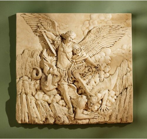 Patron Saint of Chivalry Officers Military Archangel Saint Michael Wall Frieze