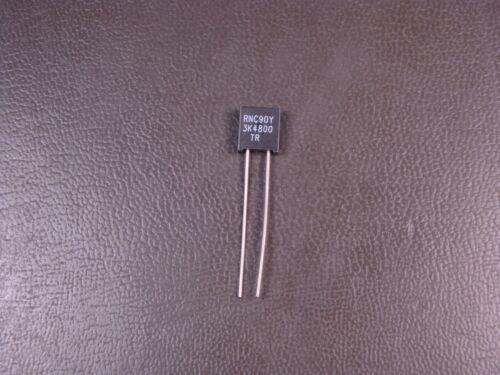RNC90Y3K4800TR Vishay Metal Foil Resistor 3.48k Ohm 600mW 3//5W 0.01/% Radial NOS