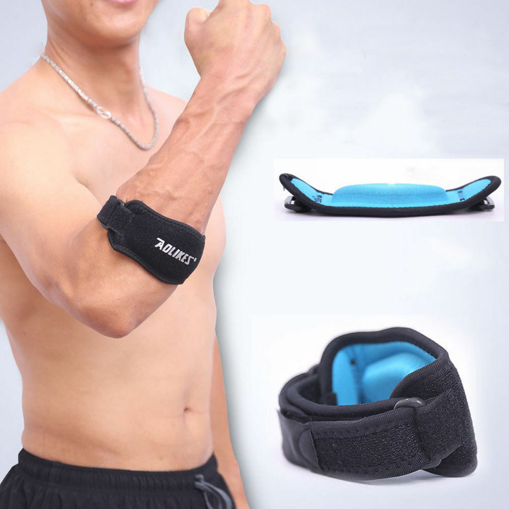 Elbow Support Compression Strap Brace Tendonitis Lateral Ten