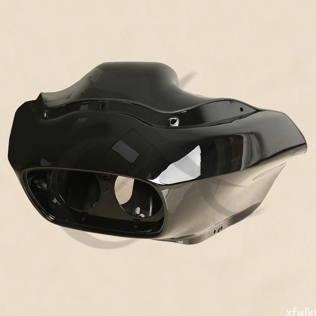 Inner Outer Fairing 5 75 U0026 39  U0026 39  Dual Led Headlights For Harley Road Glide 98