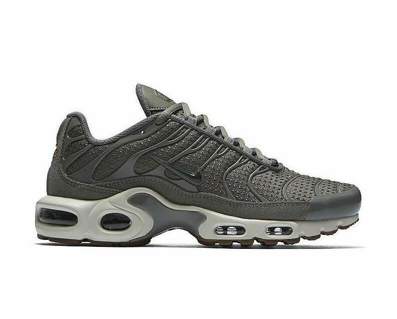 Nike Wmns Air Max Plus Dark Stucco Vintage Green Sail Running 605112-053 Size 12