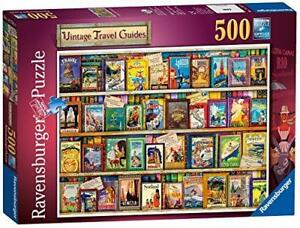 Ravensburger-Vintage-Travel-Guides-Puzzle-Family-Game-Kids-Gift-500-Piece-Jigsaw