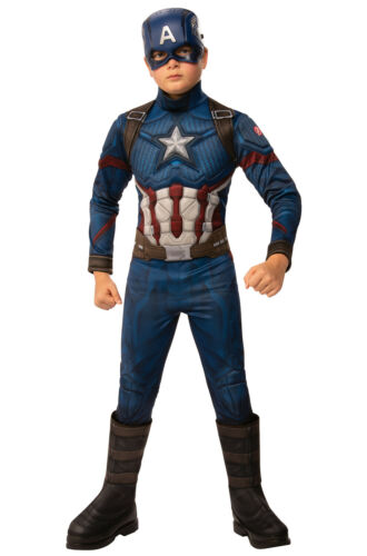 Avengers Endgame Deluxe Captain America Child Costume